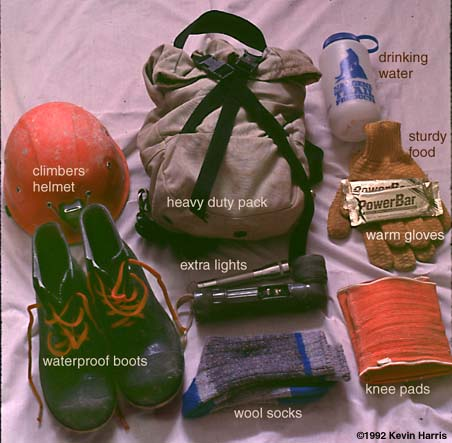 Equipment pack: A small pack